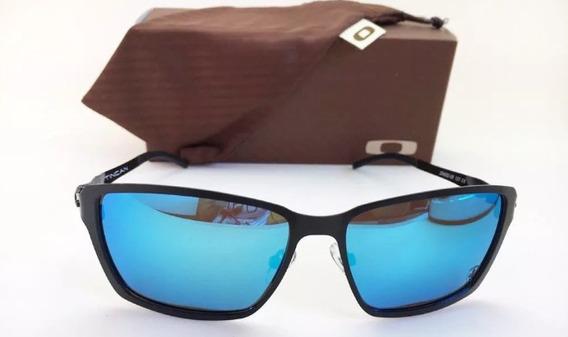 Oculos De Sol Tincan Metal Polarizado Preto + Cartâo Teste!!