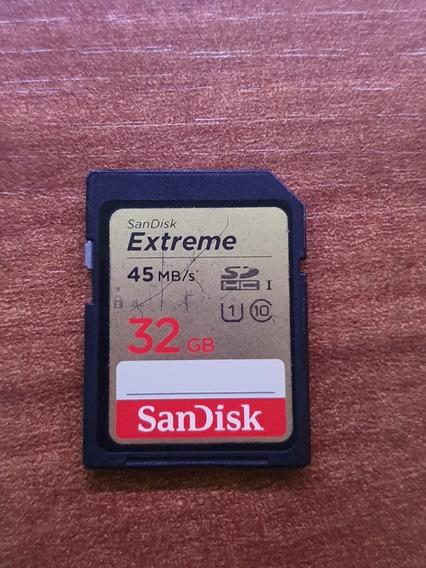 Cartão De Memória Sandisk Extreme - 32gb