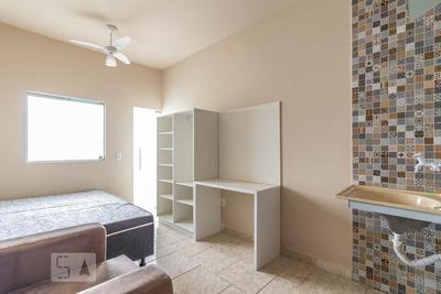 Studio Térreo Mobiliado Com 1 Dormitório - Id: 892918846 - 218846