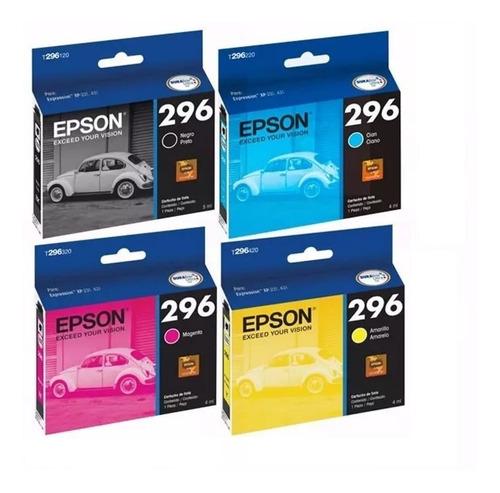 Combo Epson T296 Negro + Colores Combo Tx 231 Originales