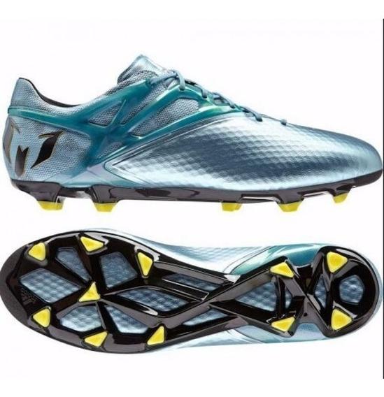 Chuteira adidas Messi 15.1 Metallic Fg Profissional #45 Nova