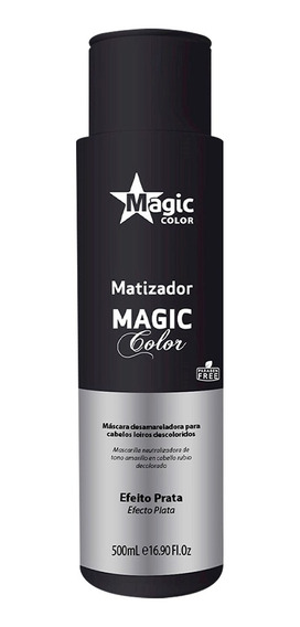 Matizador Magic Color Efeito Prata Tradicional - 500ml