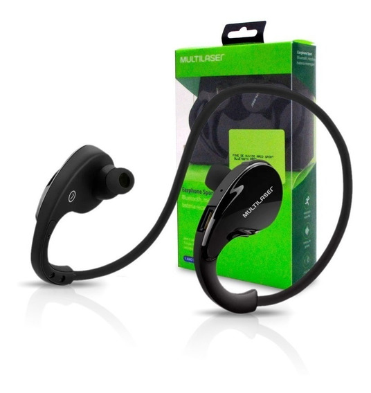 Fone De Ouvido Arco Sport Multilaser Bluetooth Preto - Ph181