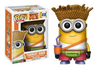Funko Pop Tourist Dave #418 - Minions - Nuevo - Nextgames