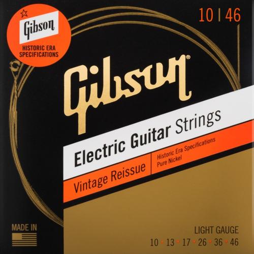 Gibson Cordas Guitarra 010.046 Vintage Reissue Light