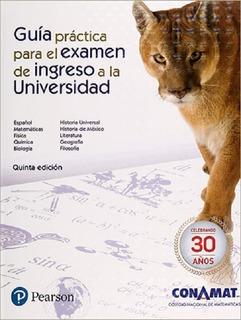 Conamat Guía De Ingreso A La Unam 2020 5ta Edición