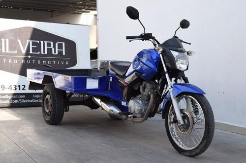 Imagem 1 de 7 de Honda Cg 150 Fan Esdi Triciclo