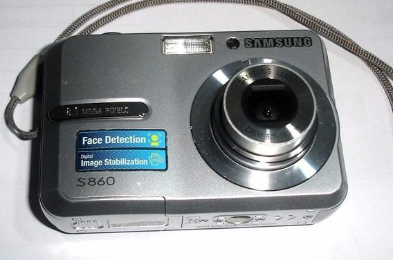 Câmera Samsung S860 Para Retirada De Peças
