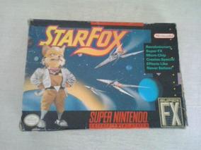 Cartucho Jogo Super Nintendo Star Fox Jogo Super Nintendo
