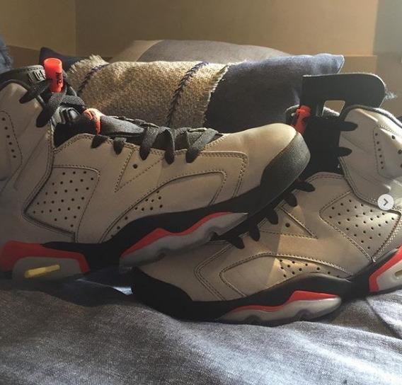 Tenis Nike Jordan 6 Retro Prata