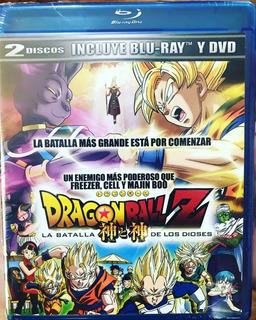 Blu-ray + Dvd Dragon Ball Z La Batalla De Los Dioses
