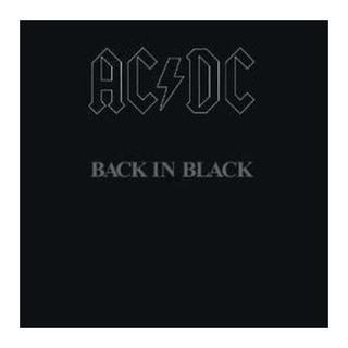 Ac/dc Back In Black Importado Lp Vinilo Nuevo