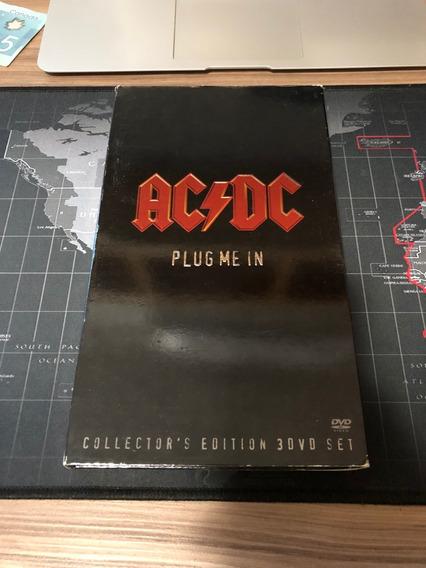 Ac/dc Plug Me In 3 Dvd Collector