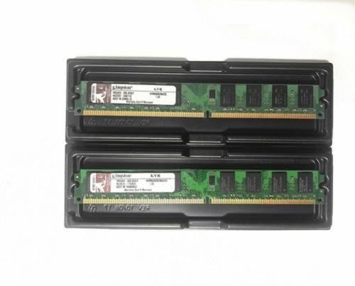 Imagem 1 de 1 de Memoria Ram 2x2gb Ddr2 800mhz Desktop 4gb