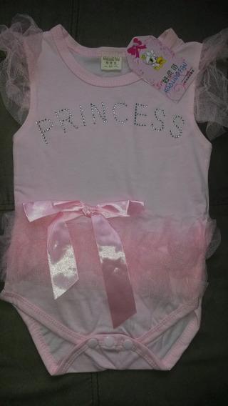 Body Infantil Vestido De Princesa Balé Dança Casual
