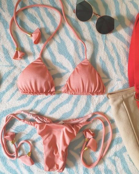 Bikini Perola Rosa Queimado