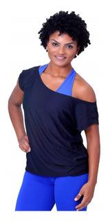 Camisa Fitness Lisa Ombro Caído