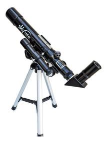 Telescópio Astronômico 40mm Novice 32x Ideal + Mini Tripé