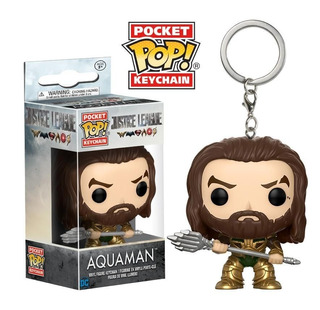 Pocket Pop Keychain - Aquaman Justice League