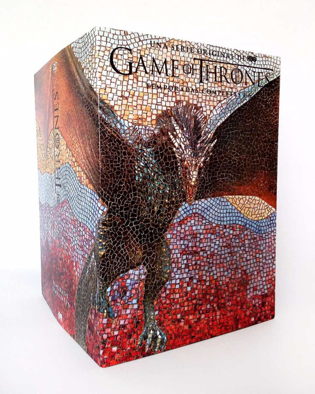 Game Of Thrones Juego De Tronos Temporadas 1 - 6 Boxset Dvd
