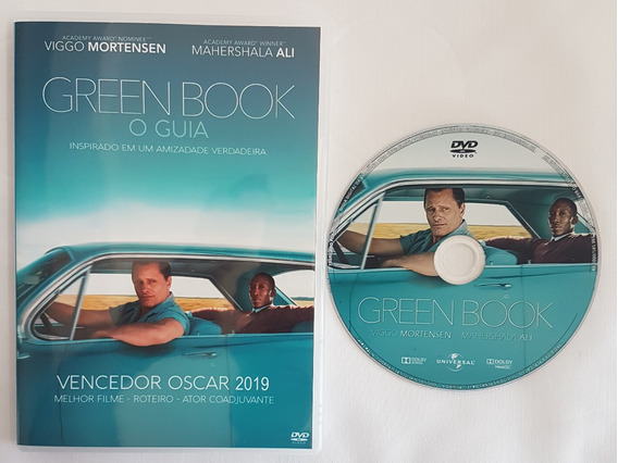Green Book O Guia Dvd Dublado E Legendado