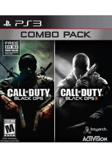 Call Of Duty Black Ops 1 Y 2 Combo Pack Ps3 Fisico Usado