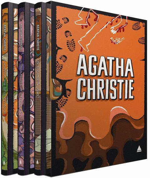 Coleção Agatha Christie - Caixa 3. (capa Dura)