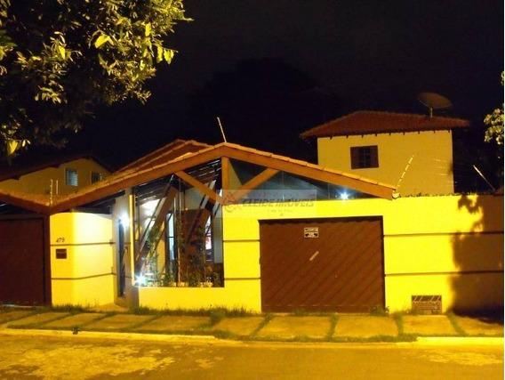 Casa Com 3 Dormitórios À Venda, 210 M² Por R$ 490.000 - Jardim Califórnia - Cuiabá/mt - Ca0445