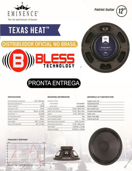 Alto Falante Eminence Texas Heat 12 150w 8 Ohms - Guitarra