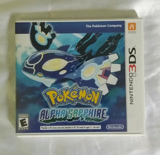 Pokemon Alpha Sapphire Caja Vacia Nintendo 3ds