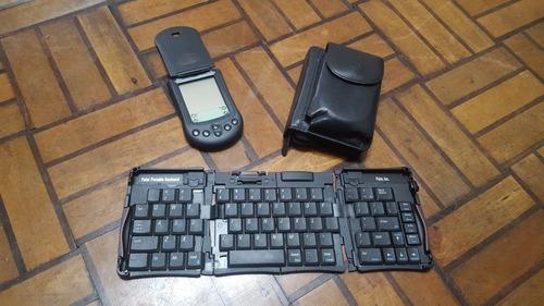 Agenda Electrónica Palm M100 Pda Teclado Y Estuche Coleccion