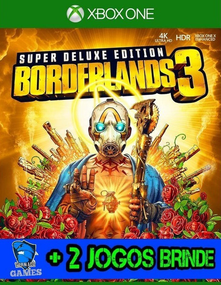 Borderlands 3 - Edição Superdeluxe - X Box One - M. Digital