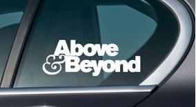 Adesivo Top Deejay Dj House Techno Above & Beyond - Dj-47