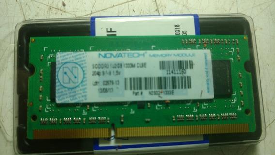 Memoria Notebook Ddr3 2gb