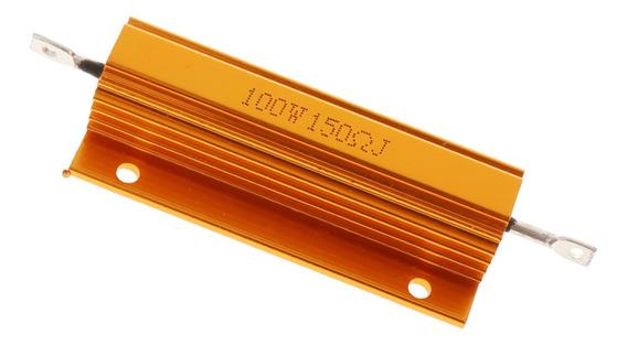 100 W Watt 150 Ohm Resistor Caso De Alumínio Com Fio Chassi