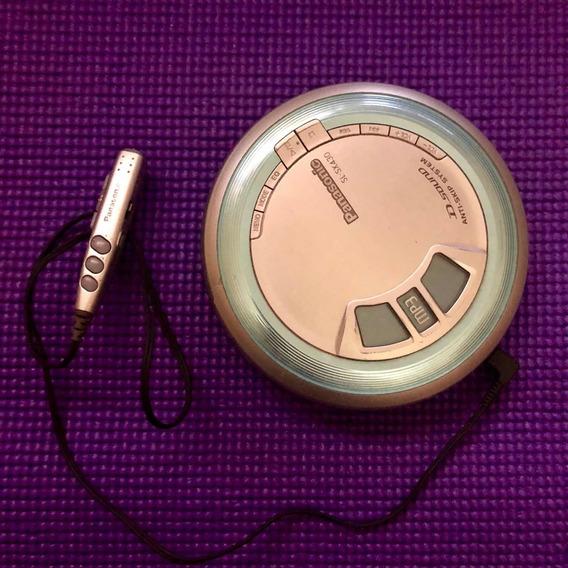 Discman- Panasonic Sl-sx430 Portable Mp3 Cd Player.