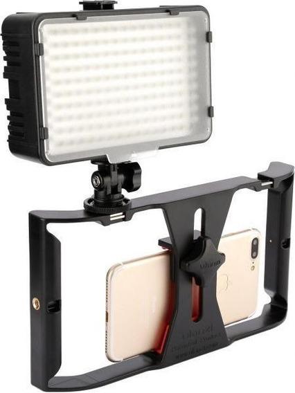 Stedycam Estabilizador Vídeo Portátil Celular Iluminador L