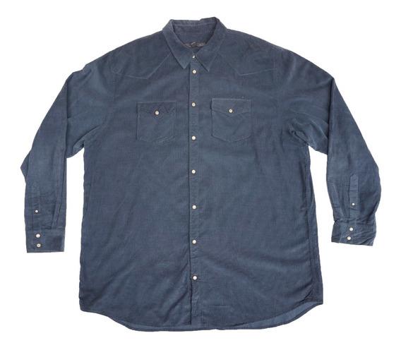 Camisa Old Navy 3xl Pana Ligera Tipo Vaquera Xxxl Big Men