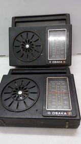 Rádios Osaka, Lote De Duas Peças, Leia.