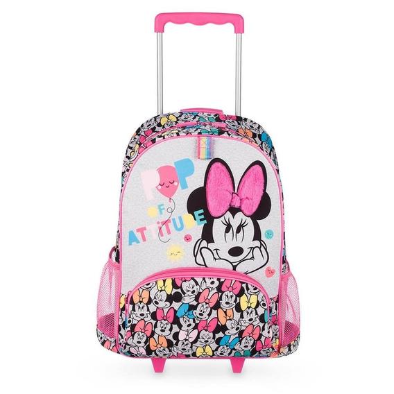 Mochila Con Ruedas De Minnie Mouse Disney Store Original