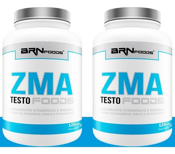 2x Pré Hormonal Testosterona Zma - 120 Cáps
