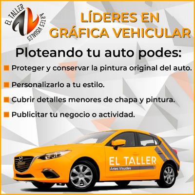 Grafica Vehicular Wrap Ploteo - El Taller Artesvisuales