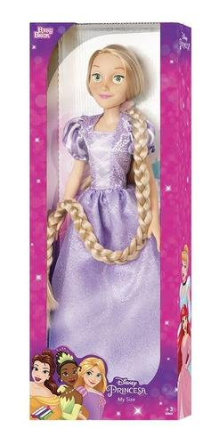 Princesa Disney My Size Rapunzel Boneca 78cm Babybrink