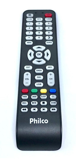 Controle Tv Philco Led Ph32 Ph46 Ph55 Original, Novo Ph24t21