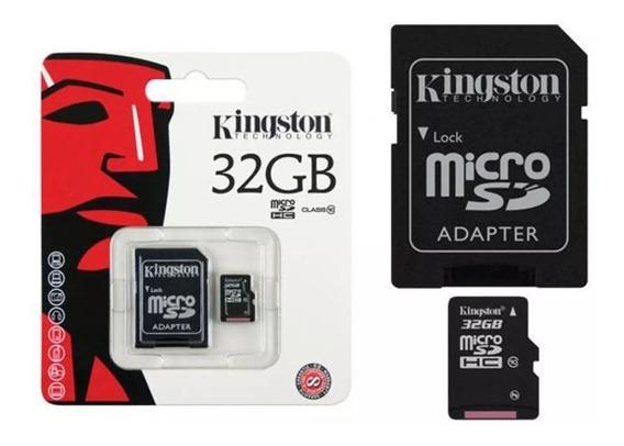 Kit 10 Und Cartão De Memória 32gb Classe 10 Orig Micro Sd