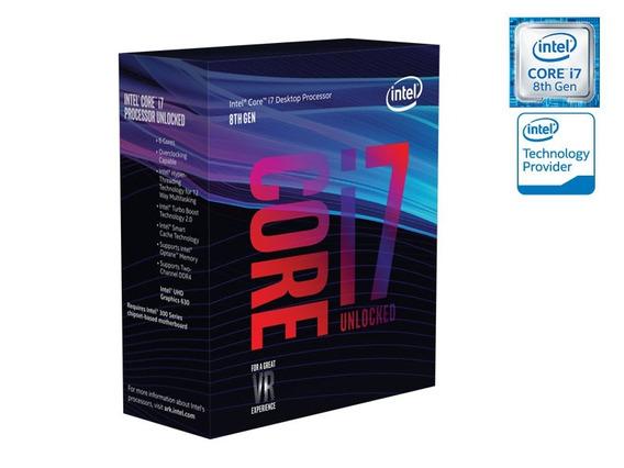 Processador Core I7 Intel 8°g Hexa Core I7-8700k 3.7ghz