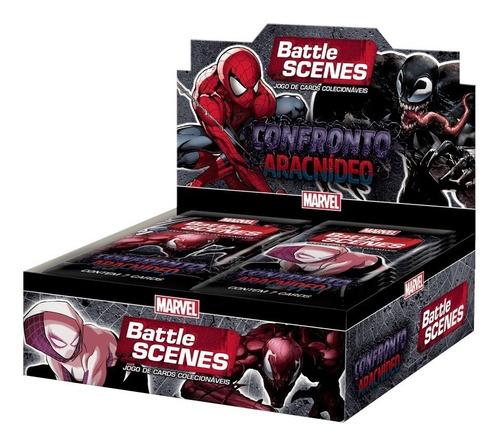 Novo Box Booster Battle Scenes Confronto Aracnideo Copag