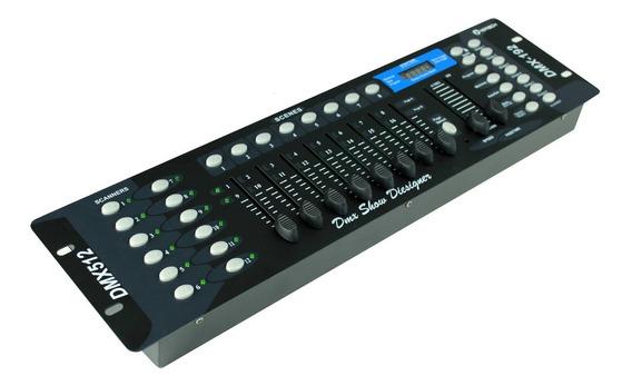 Mesa Dmx 512 Controladora C/ 192 Canais Eventos Festas Dj