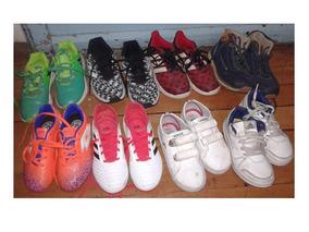 Zapatillas De Niño Marca adidas Y Lacoste Numero 26, 28 Y 30