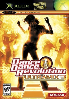 Dance Dance Revolution Ultramix 3 Bundle Xbox
